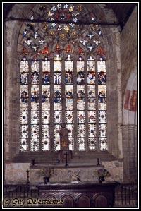 Vitrail (Chapelle Saint-Jacques, Saint-Léon, 2003)