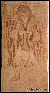 Ange héraldique (Eglise Saint-Gal, Langast 2005)