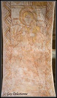 Ange héraldique (Eglise Saint-Gal,Langast 2005)