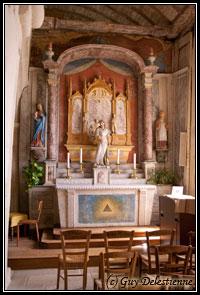 Autel secondaire  (Eglise Saint-Gal, Langast 2005)