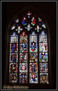 Vitrail (Eglise Saint-Gal, Langast 2005)