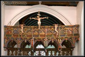 Jubé (Chapelle Saint-Fiacre, Faouet, 2007)
