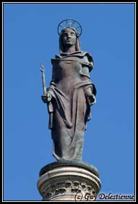 Statue de Sainte-Anne (Sanctuaire, Sainte-Anne d'Auray, 2007)