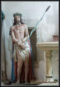 Jésus en souffrance (Chapelle Saint-Fiacre, Faouet, 2008)
