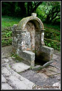 Fontaine (Chapelle Sainte-Barbe, Faouet, 2008)