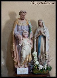 La Sainte Famille (Eglise Saint-Gérand, Cléguer, 2009)