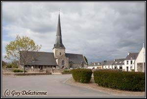 Eglise paroisiale de la Trinité (Calan, 2010)