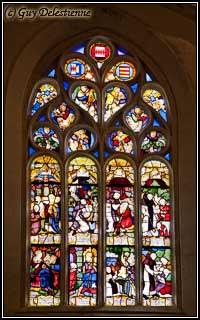 Vitrail (Chapelle Saint-Fiacre, Faouet, 2010)