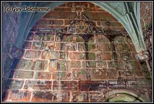 Peintures murales (Notre-Dame des Carmes, Neulliac, 2011)